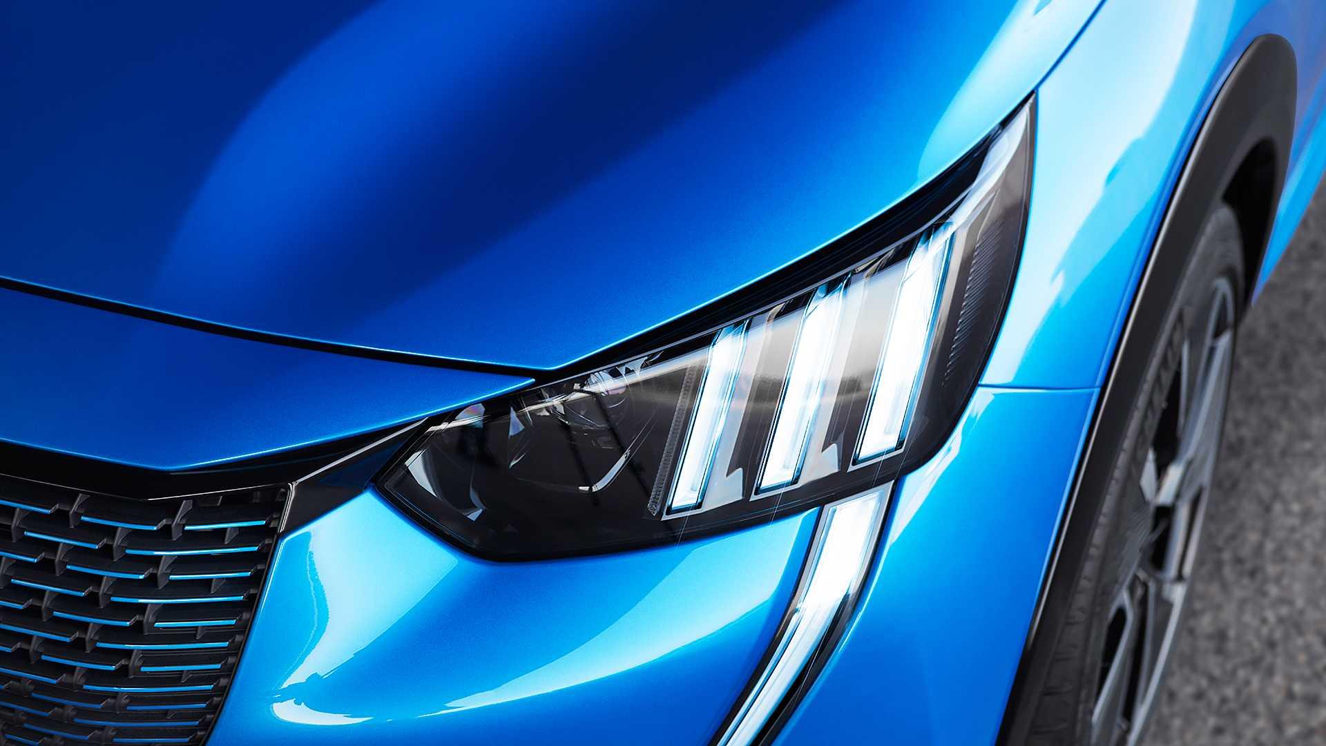 2020 Peugeot e-208 EV Headlight Wallpaper (14)