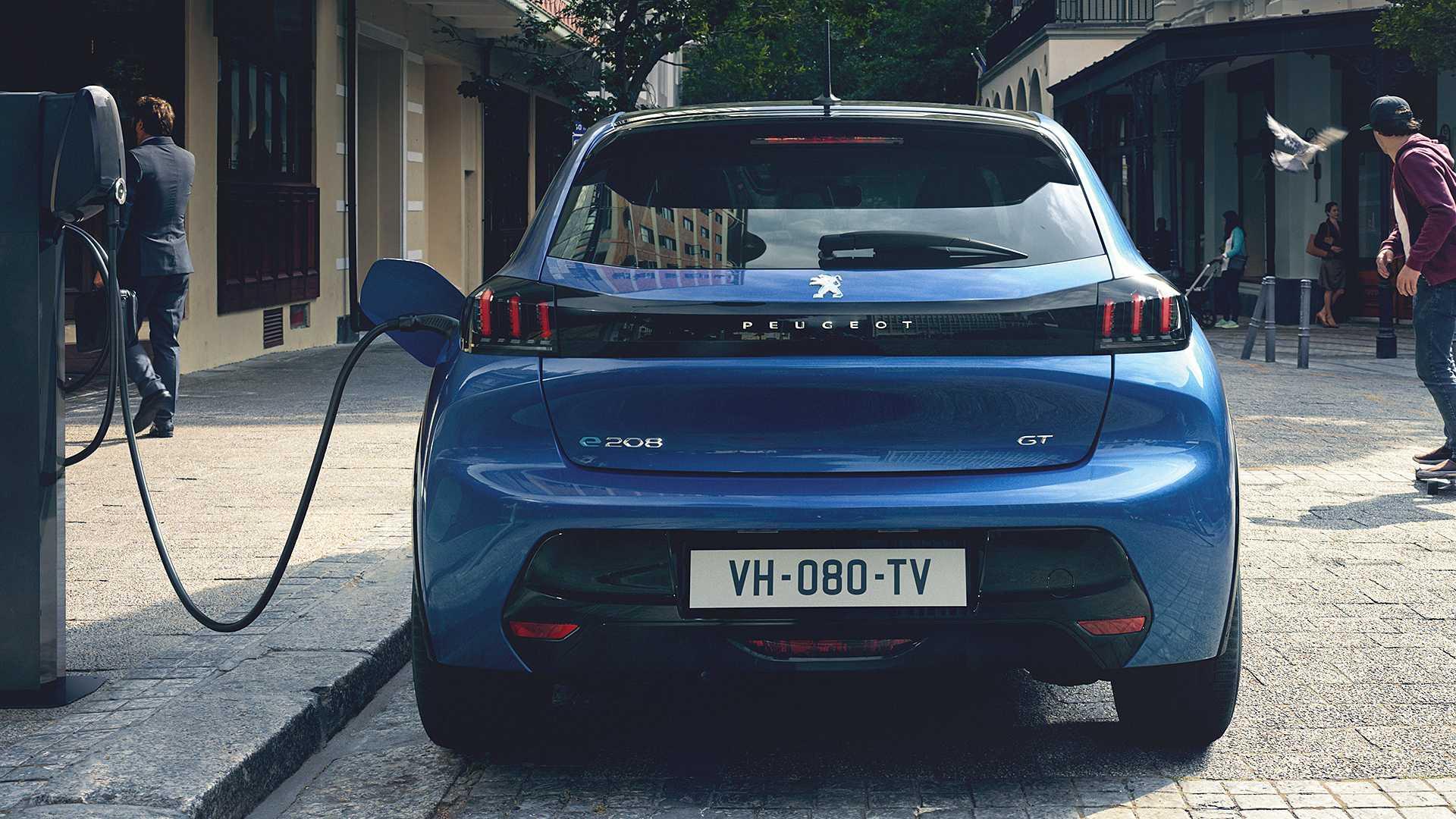 2020 Peugeot e-208 EV Rear Wallpapers (7)