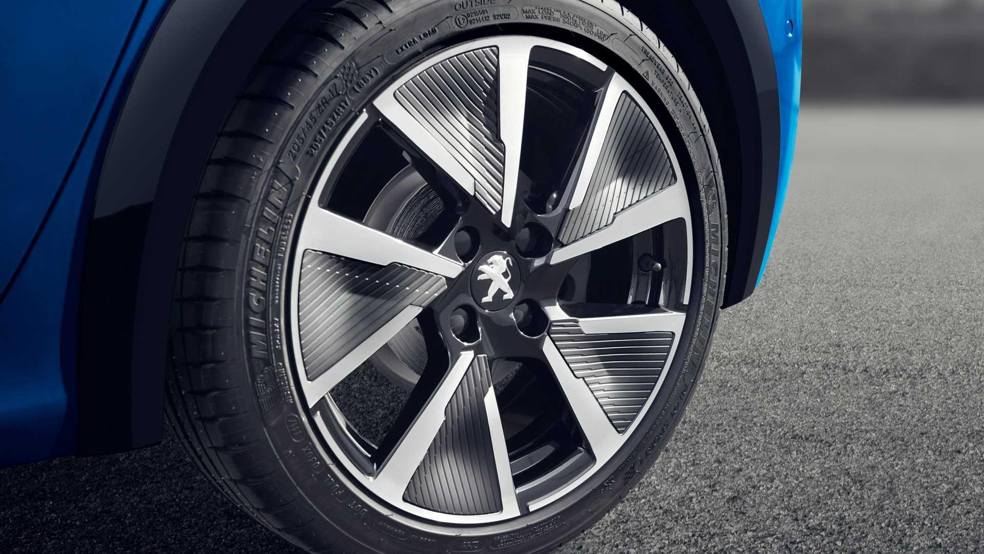 2020 Peugeot e-208 EV Wheel Wallpaper (13)