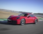 2020 Porsche 911 4S (Color: Guards Red) Front Three-Quarter Wallpaper 150x120 (12)