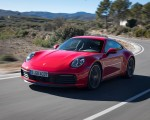 2020 Porsche 911 4S (Color: Guards Red) Front Three-Quarter Wallpaper 150x120 (13)