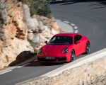 2020 Porsche 911 4S (Color: Guards Red) Front Three-Quarter Wallpaper 150x120 (1)