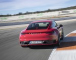 2020 Porsche 911 4S (Color: Guards Red) Rear Three-Quarter Wallpaper 150x120 (16)