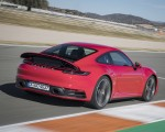2020 Porsche 911 4S (Color: Guards Red) Rear Three-Quarter Wallpaper 150x120 (15)