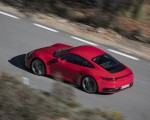 2020 Porsche 911 4S (Color: Guards Red) Rear Three-Quarter Wallpaper 150x120 (5)