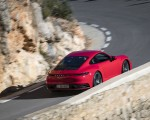 2020 Porsche 911 4S (Color: Guards Red) Rear Three-Quarter Wallpaper 150x120 (6)