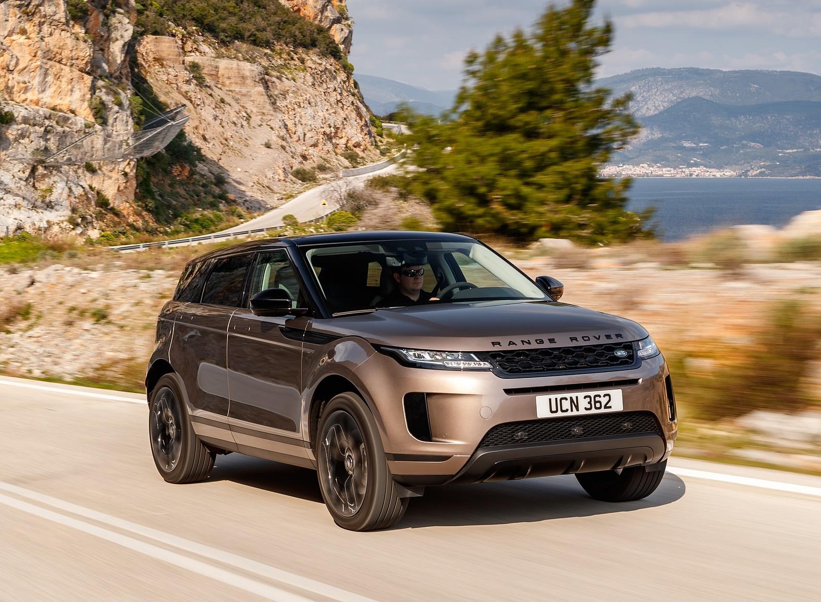 2020 Range Rover Evoque Front Three-Quarter Wallpapers (2)