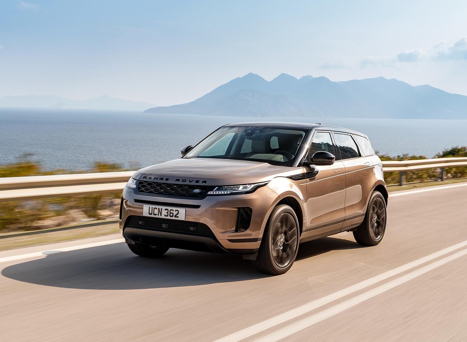 2020 Range Rover Evoque Front Three-Quarter Wallpapers (1)