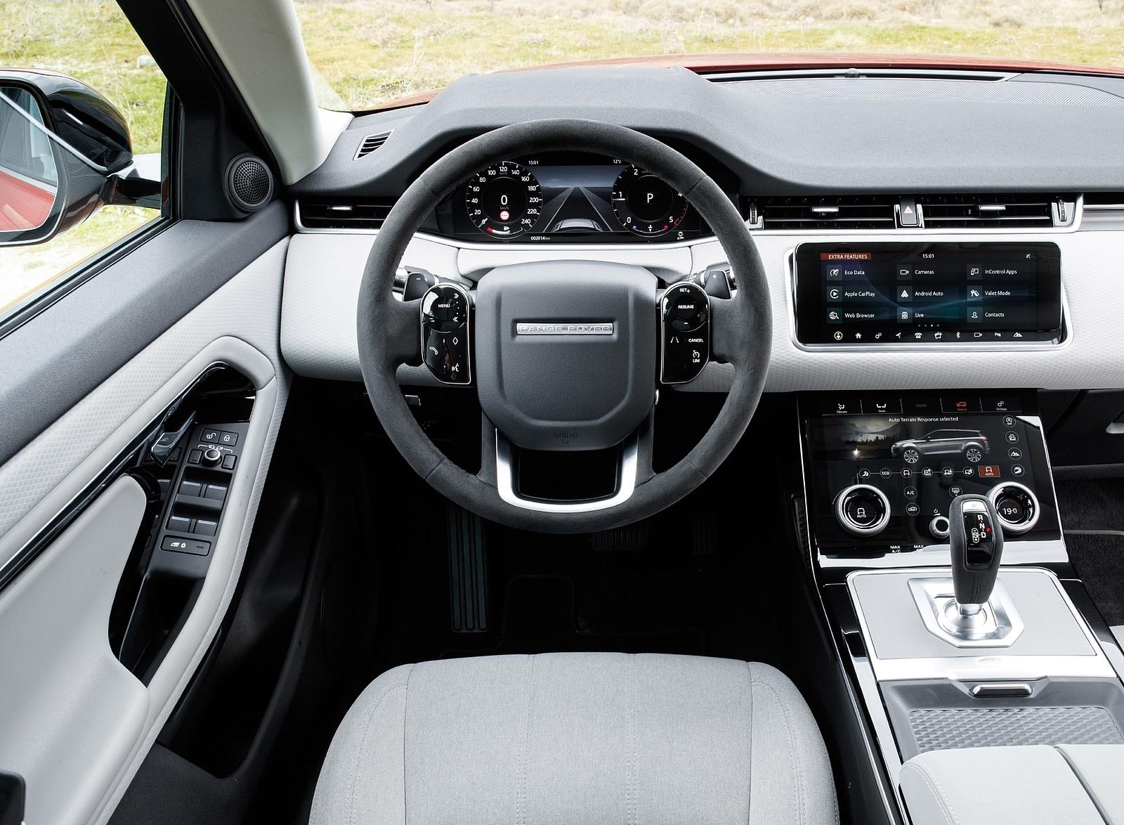 2020 Range Rover Evoque Interior Cockpit Wallpapers (15)