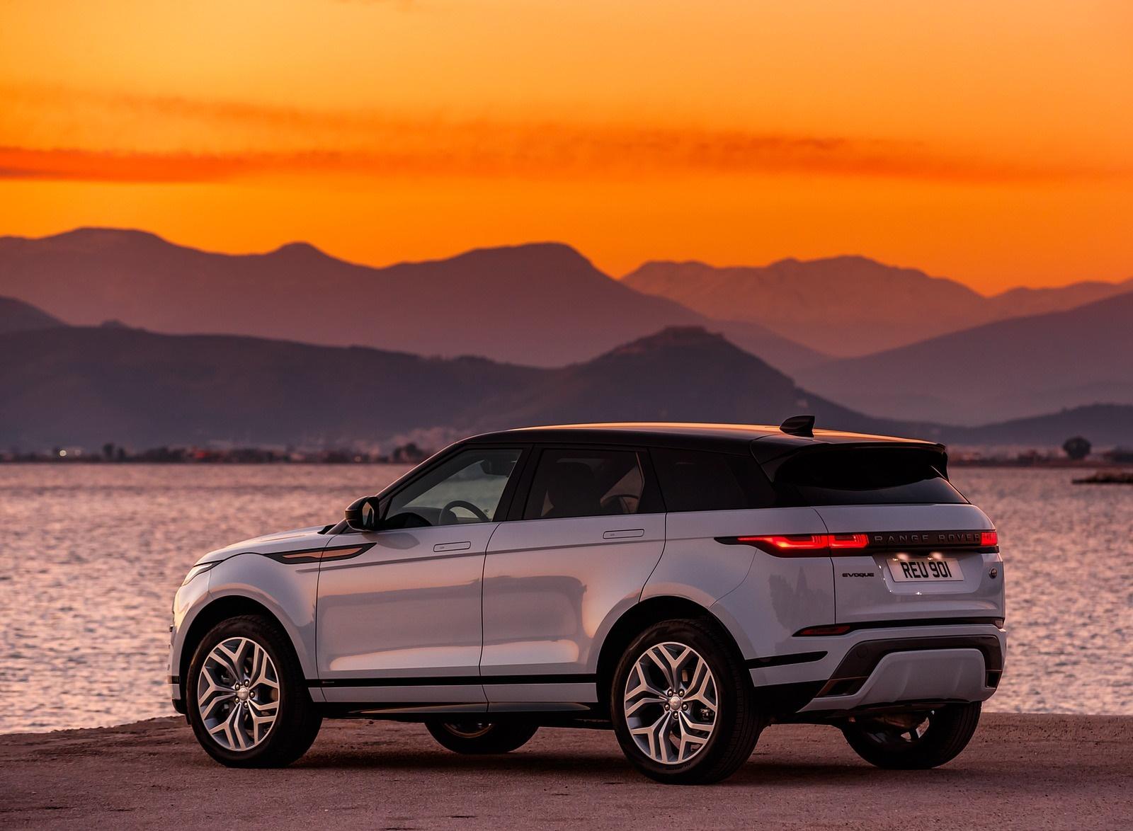 2020 Range Rover Evoque Rear Three-Quarter Wallpapers (13)