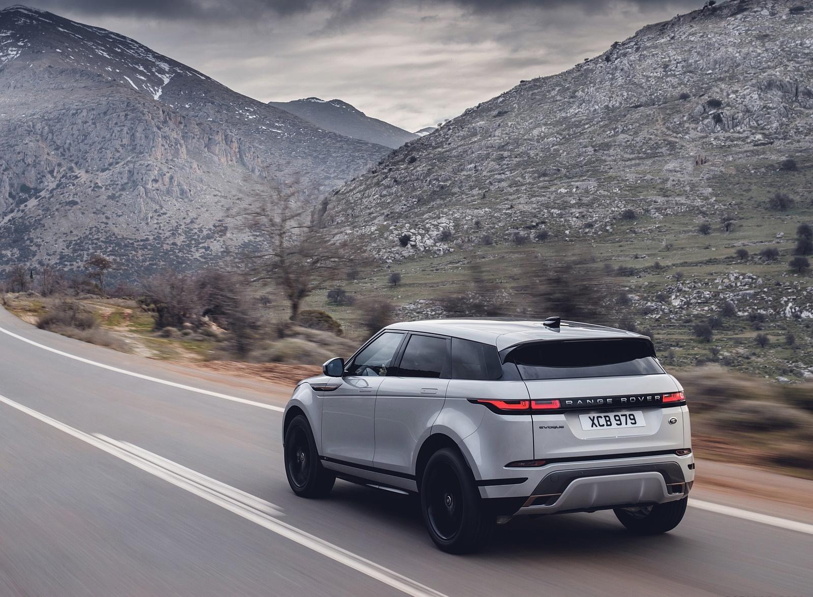 2020 Range Rover Evoque Rear Three-Quarter Wallpapers (8)