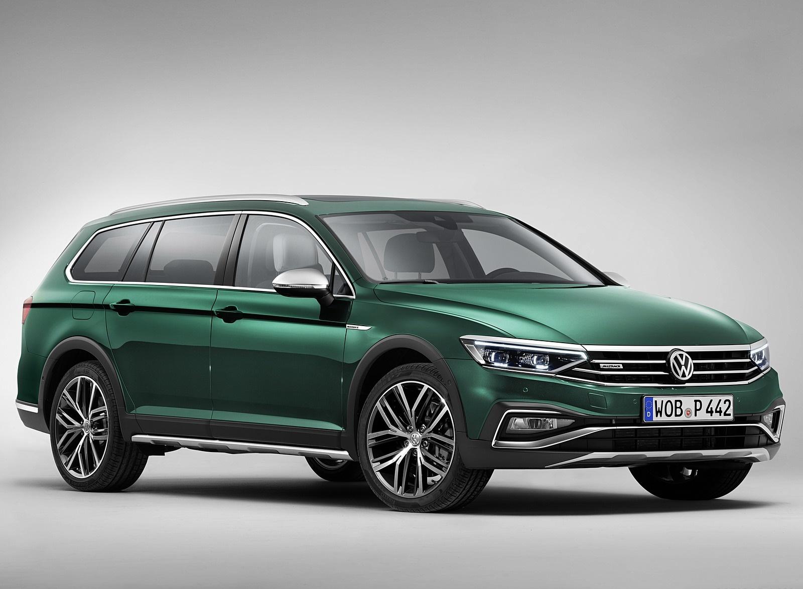 2020 Volkswagen Passat Alltrack (EU-Spec) Front Three-Quarter Wallpapers (9)