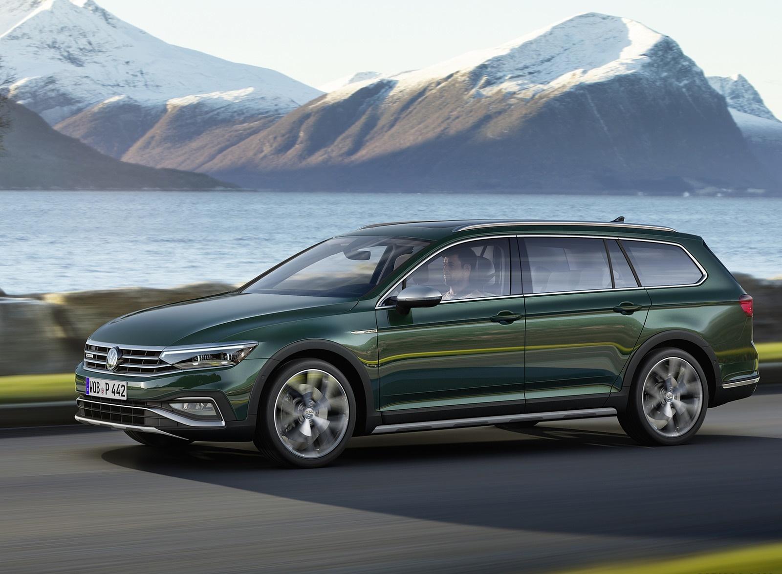 2020 Volkswagen Passat Alltrack (EU-Spec) Front Three-Quarter Wallpapers (2)