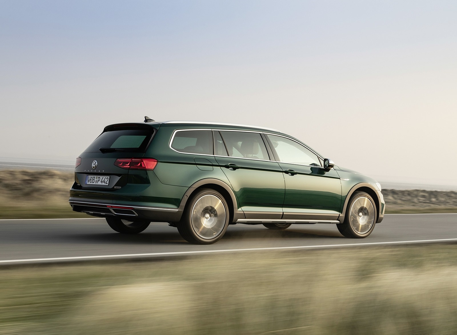 2020 Volkswagen Passat Alltrack (EU-Spec) Rear Three-Quarter Wallpapers (10)