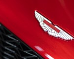 2018 Aston Martin Vanquish Zagato Coupe Badge Wallpapers 150x120 (16)