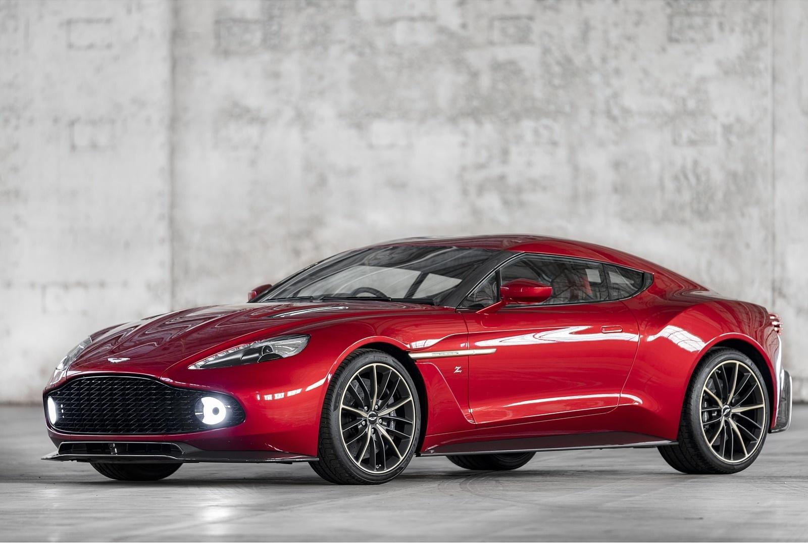 2018 Aston Martin Vanquish Zagato Coupe Front Three-Quarter Wallpapers (4)