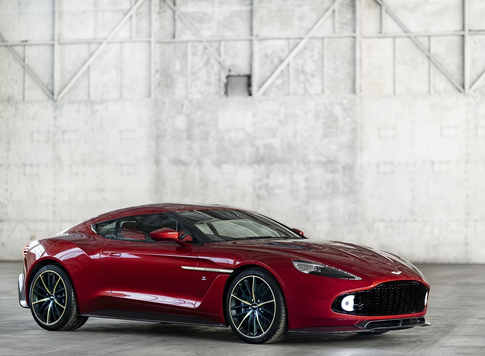 2018 Aston Martin Vanquish Zagato Coupe Front Three-Quarter Wallpapers (5)