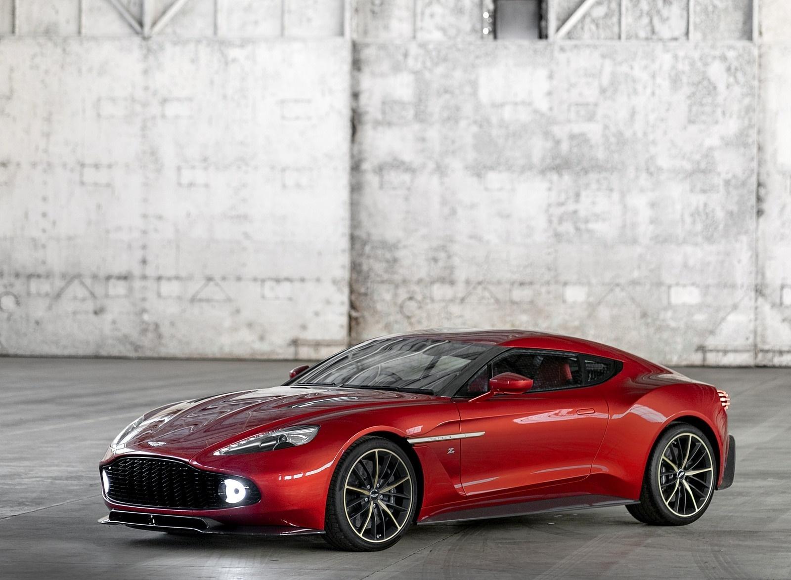2018 Aston Martin Vanquish Zagato Coupe Front Three-Quarter Wallpapers (6)