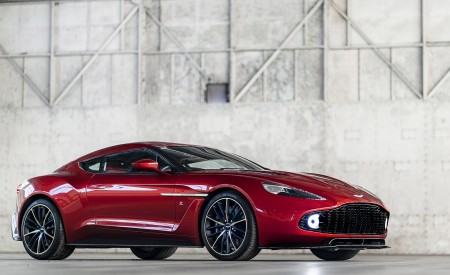 2018 Aston Martin Vanquish Zagato Coupe Wallpapers HD