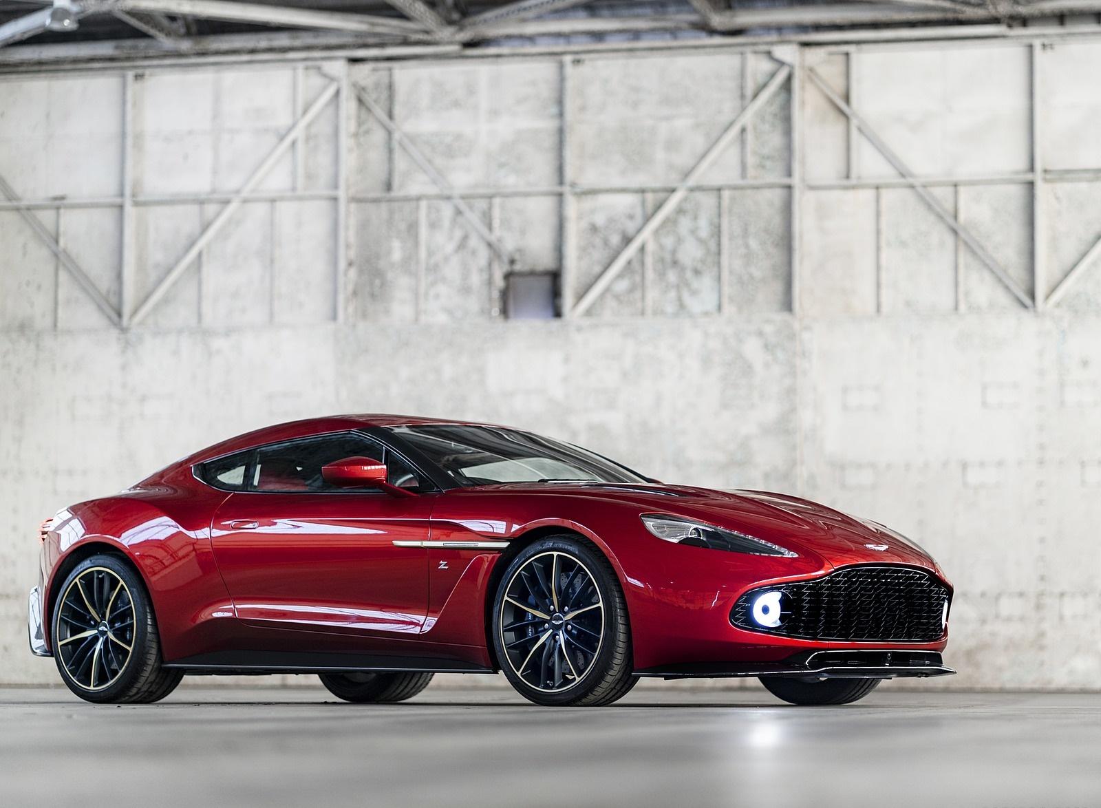 2018 Aston Martin Vanquish Zagato Coupe Front Three-Quarter Wallpapers (1)