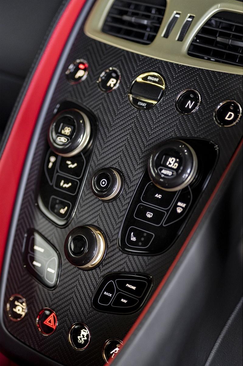 2018 Aston Martin Vanquish Zagato Coupe Interior Detail Wallpapers 25 Newcarcars
