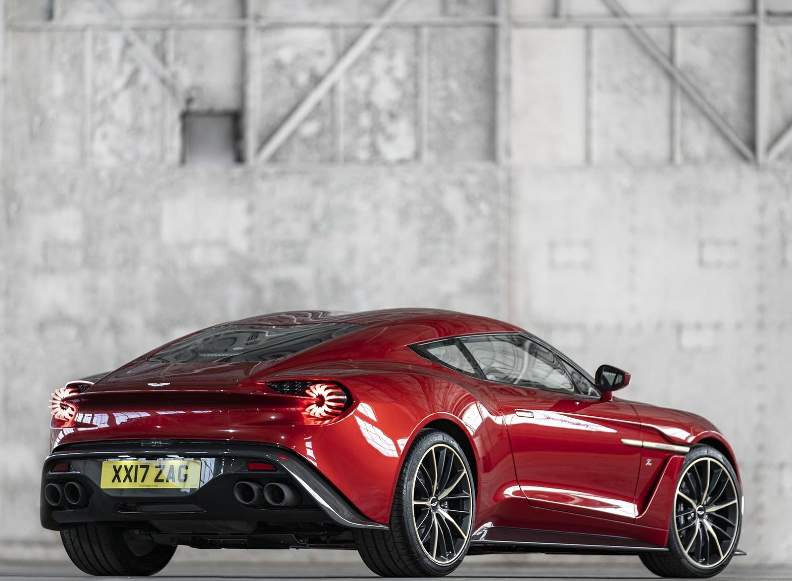 2018 Aston Martin Vanquish Zagato Coupe Rear Three-Quarter Wallpapers (2)