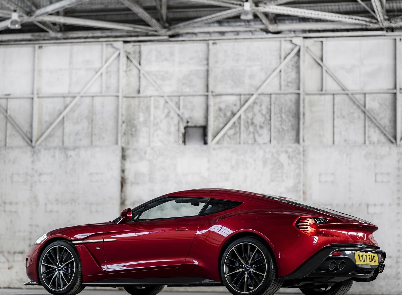 2018 Aston Martin Vanquish Zagato Coupe Rear Three-Quarter Wallpapers (8)