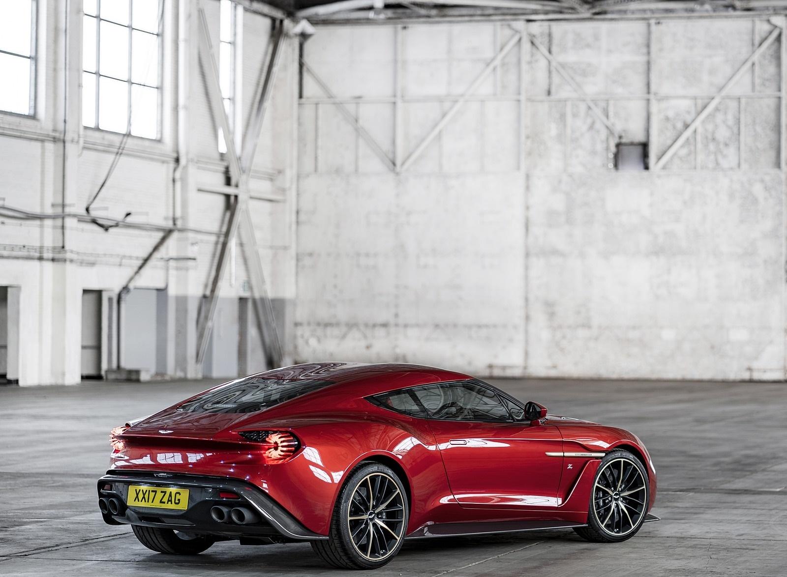 2018 Aston Martin Vanquish Zagato Coupe Rear Three-Quarter Wallpapers (10)