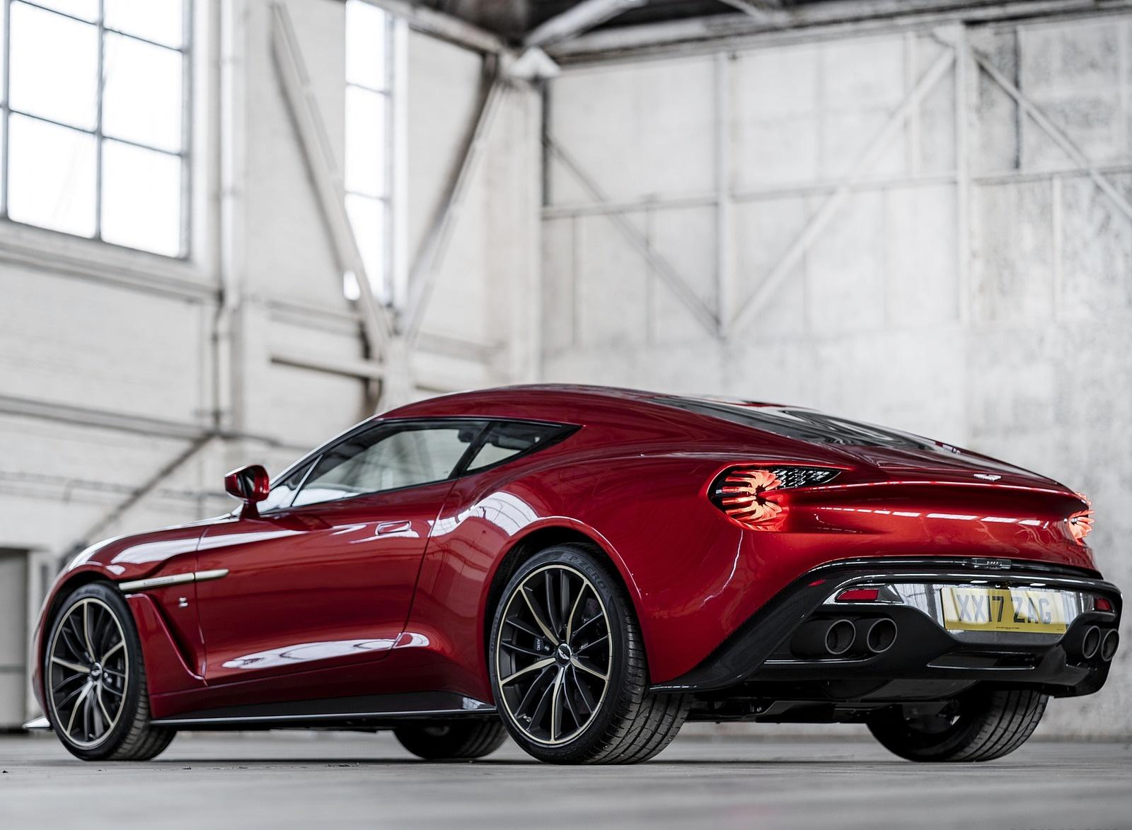 2018 Aston Martin Vanquish Zagato Coupe Rear Three-Quarter Wallpapers (3)