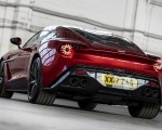 2018 Aston Martin Vanquish Zagato Coupe Rear Wallpapers 150x120 (12)
