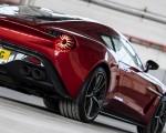2018 Aston Martin Vanquish Zagato Coupe Tail Light Wallpapers 150x120 (15)