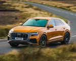 2019 Audi Q8 S Line 50 TDI Quattro (UK-Spec) Front Three-Quarter Wallpaper 150x120 (33)