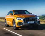 2019 Audi Q8 S Line 50 TDI Quattro (UK-Spec) Front Three-Quarter Wallpaper 150x120 (27)