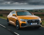 2019 Audi Q8 S Line 50 TDI Quattro (UK-Spec) Front Three-Quarter Wallpaper 150x120 (17)