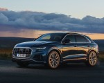 2019 Audi Q8 S Line 50 TDI Quattro (UK-Spec) Front Three-Quarter Wallpaper 150x120 (8)