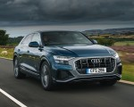 2019 Audi Q8 S Line 50 TDI Quattro (UK-Spec) Front Three-Quarter Wallpaper 150x120 (2)