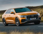 2019 Audi Q8 S Line 50 TDI Quattro (UK-Spec) Front Three-Quarter Wallpaper 150x120 (34)