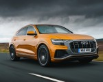 2019 Audi Q8 S Line 50 TDI Quattro (UK-Spec) Front Three-Quarter Wallpaper 150x120 (18)