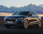 2019 Audi Q8 S Line 50 TDI Quattro (UK-Spec) Front Three-Quarter Wallpaper 150x120 (10)