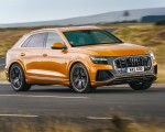 2019 Audi Q8 S Line 50 TDI Quattro (UK-Spec) Front Three-Quarter Wallpaper 150x120 (28)