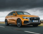 2019 Audi Q8 S Line 50 TDI Quattro (UK-Spec) Front Three-Quarter Wallpaper 150x120 (19)