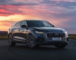 2019 Audi Q8 S Line 50 TDI Quattro (UK-Spec) Front Three-Quarter Wallpaper 150x120 (11)
