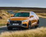 2019 Audi Q8 S Line 50 TDI Quattro (UK-Spec) Front Wallpaper 150x120 (45)