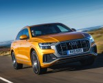 2019 Audi Q8 S Line 50 TDI Quattro (UK-Spec) Front Wallpaper 150x120 (29)