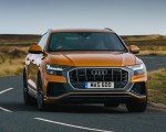 2019 Audi Q8 S Line 50 TDI Quattro (UK-Spec) Front Wallpaper 150x120 (46)