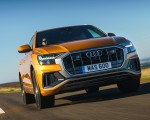 2019 Audi Q8 S Line 50 TDI Quattro (UK-Spec) Front Wallpaper 150x120 (30)