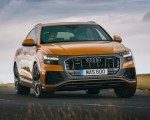 2019 Audi Q8 S Line 50 TDI Quattro (UK-Spec) Front Wallpaper 150x120 (47)
