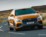 2019 Audi Q8 S Line 50 TDI Quattro (UK-Spec) Front Wallpaper 150x120 (48)