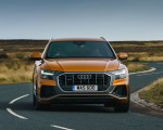 2019 Audi Q8 S Line 50 TDI Quattro (UK-Spec) Front Wallpaper 150x120 (36)