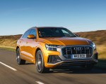 2019 Audi Q8 S Line 50 TDI Quattro (UK-Spec) Front Wallpaper 150x120 (31)
